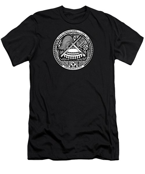American Samoa Seal Men's T-Shirt (Athletic Fit)