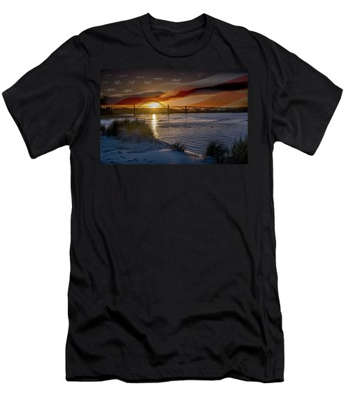 American Skies Men's T-Shirt (Athletic Fit)