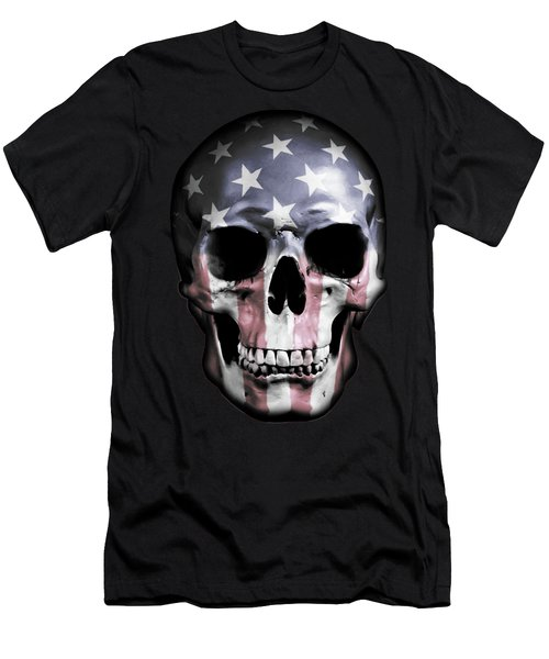 American Skull Men's T-Shirt (Athletic Fit)