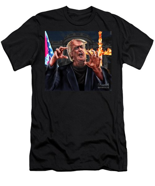 Amerikkkenstein Men's T-Shirt (Athletic Fit)