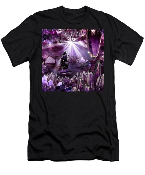 Amethyst Dreams Men's T-Shirt (Athletic Fit)