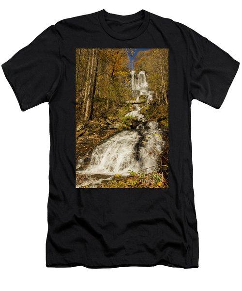 Amicola Falls Gushing Men's T-Shirt (Athletic Fit)