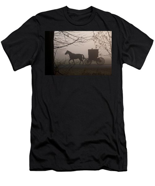 Amish Morning 1 Men's T-Shirt (Athletic Fit)