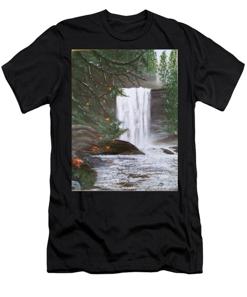 Ammonite Falls Men's T-Shirt (Athletic Fit)