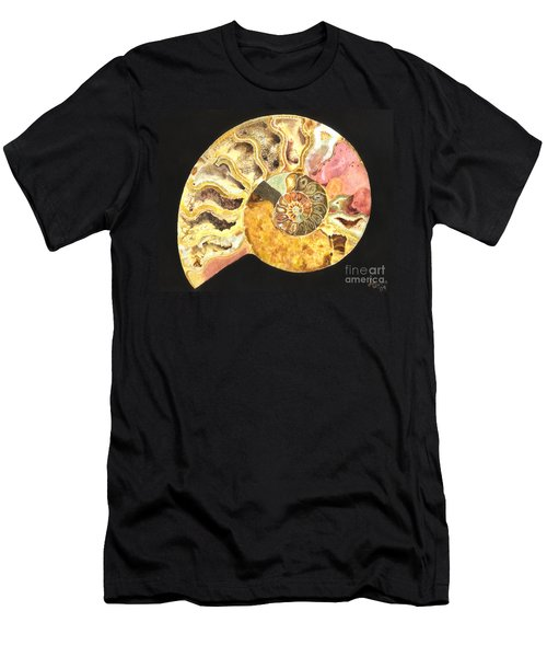 Ammonite Fossil Men's T-Shirt (Athletic Fit)