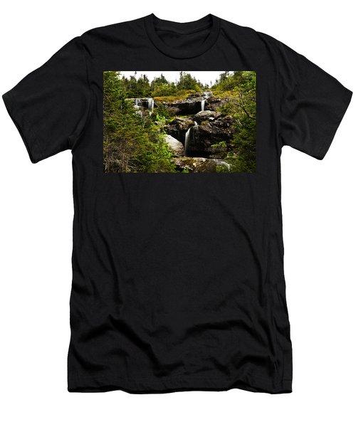 Ammonoosuc Falls Men's T-Shirt (Athletic Fit)