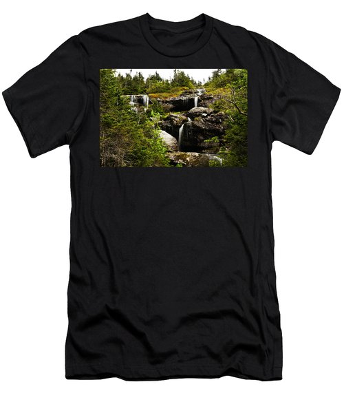 Ammonoosuc Falls Men's T-Shirt (Athletic Fit)