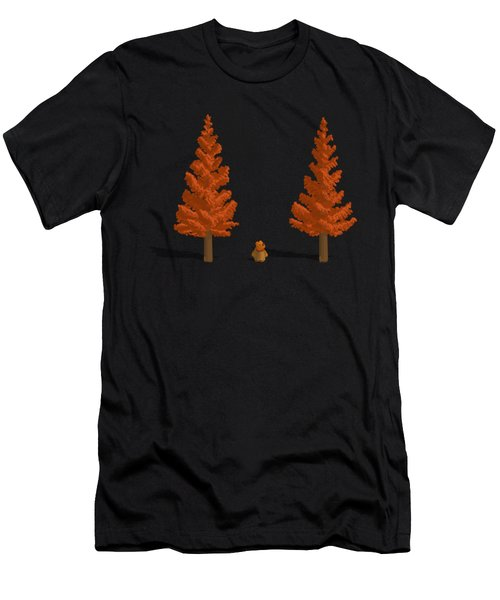 Among The Giants Men's T-Shirt (Athletic Fit)