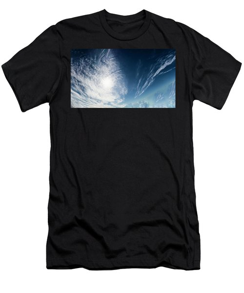 An Abstract Sky Men's T-Shirt (Athletic Fit)