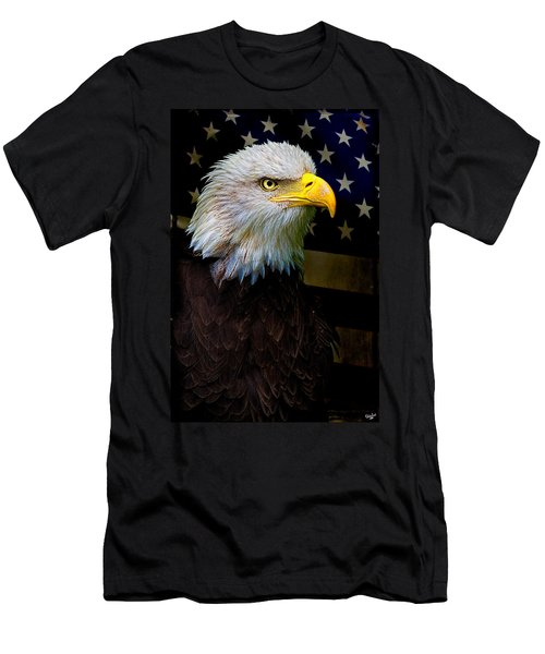 Men's T-Shirt (Athletic Fit) featuring the photograph An American Icon by Chris Lord
