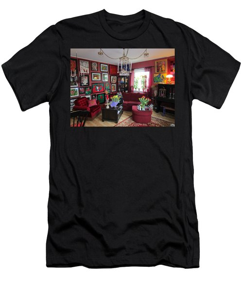An Artists Livingroom Men's T-Shirt (Athletic Fit)
