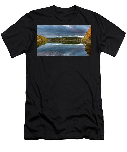 An Autumn Evening At The Lake Men's T-Shirt (Athletic Fit)
