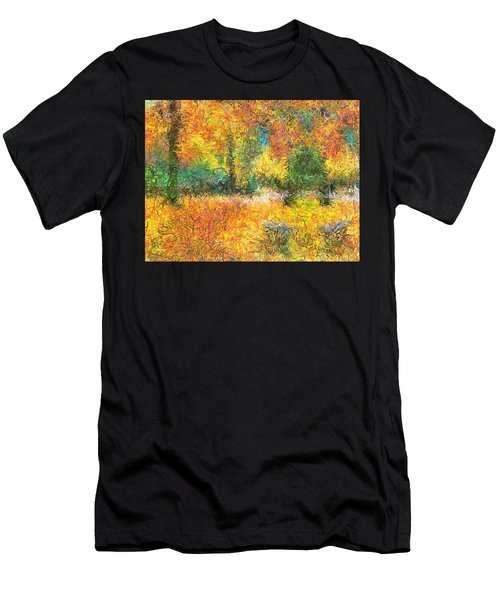 An Autumn In The Park Men's T-Shirt (Athletic Fit)