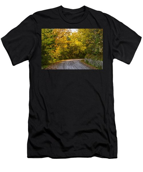 An Autumn Landscape - Hdr 2  Men's T-Shirt (Athletic Fit)