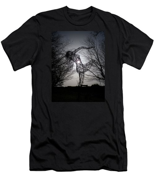 An Eclipse Of The Heart? Men's T-Shirt (Slim Fit) by Richard Brookes