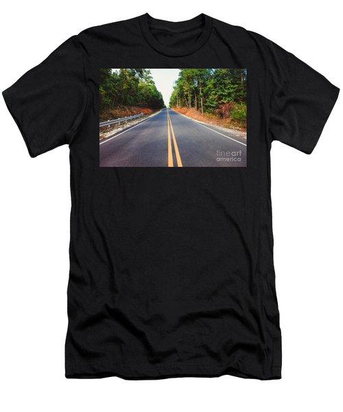 An Empty Road Men's T-Shirt (Athletic Fit)