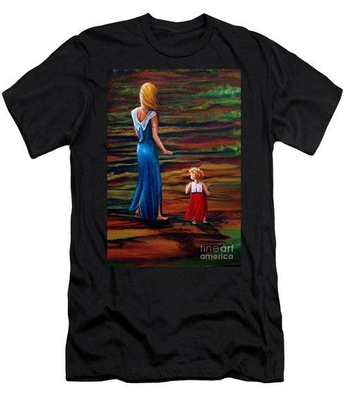 An Evening Walk Men's T-Shirt (Athletic Fit)