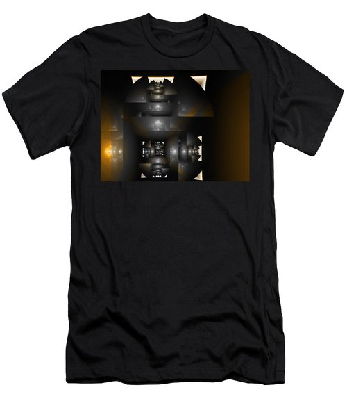 An Interior Space Abstract Men's T-Shirt (Athletic Fit)