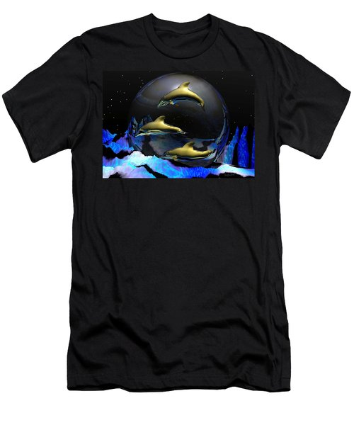 An Ocean Filled With Tears- Men's T-Shirt (Athletic Fit)