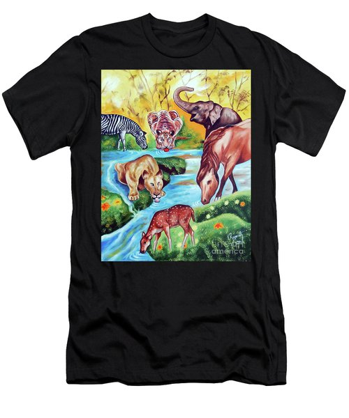 An Unity Men's T-Shirt (Athletic Fit)