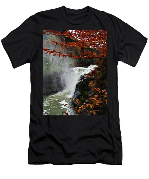 An Upper Letchworth Autumn Men's T-Shirt (Athletic Fit)