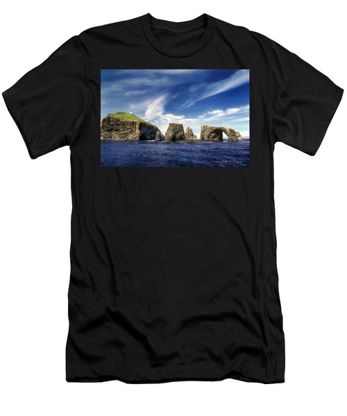 Channel Islands National Park - Anacapa Island Men's T-Shirt (Athletic Fit)