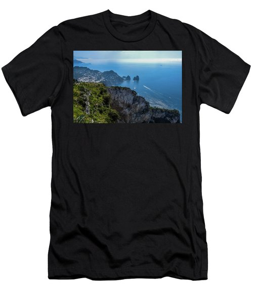 Anacapri On Isle Of Capri Men's T-Shirt (Athletic Fit)