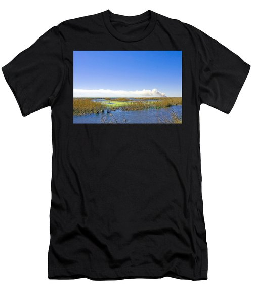 Anahuac Marshes Men's T-Shirt (Athletic Fit)