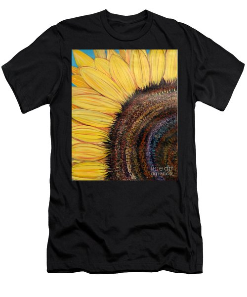 Anatomy Of A Sunflower Men's T-Shirt (Athletic Fit)
