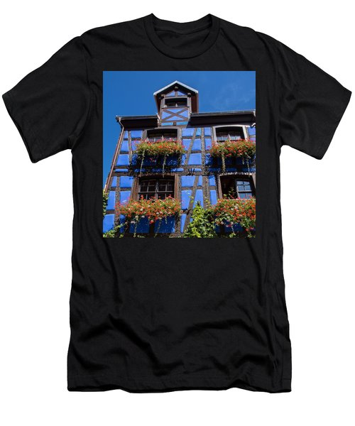 Ancient Alsace Auberge In Blue Men's T-Shirt (Athletic Fit)