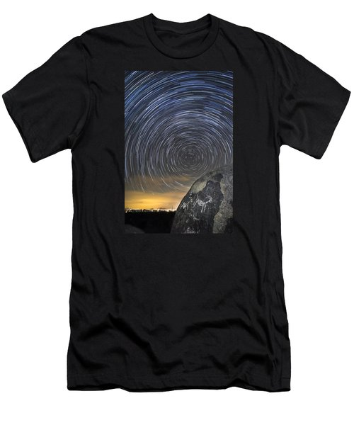 Ancient Art - Counting Sheep Men's T-Shirt (Athletic Fit)