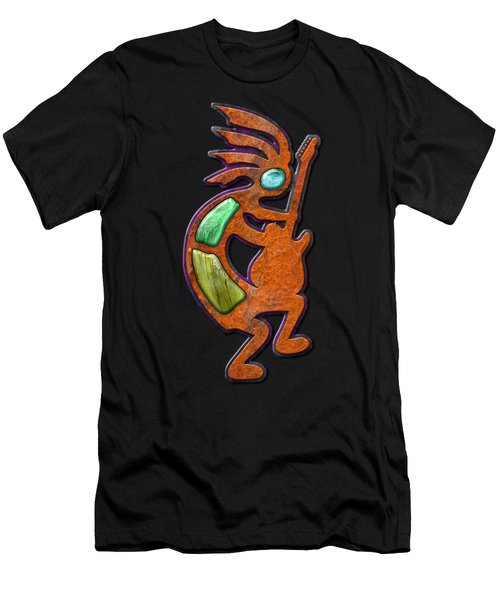 Ancient Blues T Shirt Men's T-Shirt (Athletic Fit)