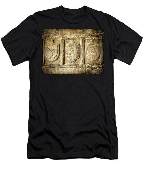 Ancient Carvings Men's T-Shirt (Athletic Fit)