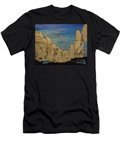 Ancient Clouds Men's T-Shirt (Athletic Fit)