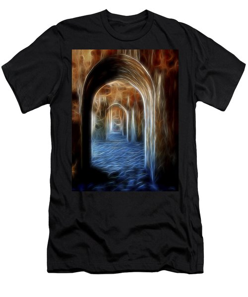 Ancient Doorway 5 Men's T-Shirt (Athletic Fit)