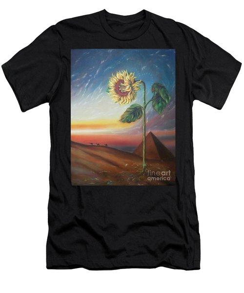 Blaa Kattproduksjoner              Ancient Energy Men's T-Shirt (Athletic Fit)