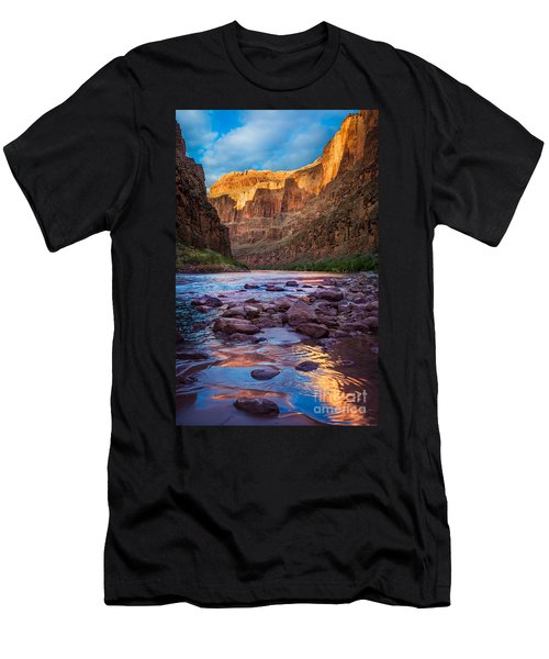 Ancient Shore Men's T-Shirt (Slim Fit) by Inge Johnsson