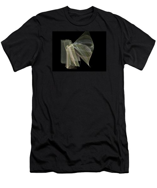 Men's T-Shirt (Slim Fit) featuring the digital art And The Angel Spoke..... by Jackie Mueller-Jones