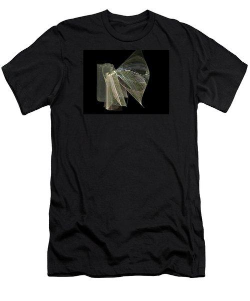 And The Angel Spoke..... Men's T-Shirt (Slim Fit) by Jackie Mueller-Jones