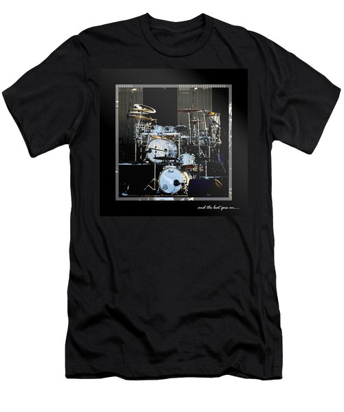 And The Beat Goes On.... Men's T-Shirt (Slim Fit) by Holly Kempe