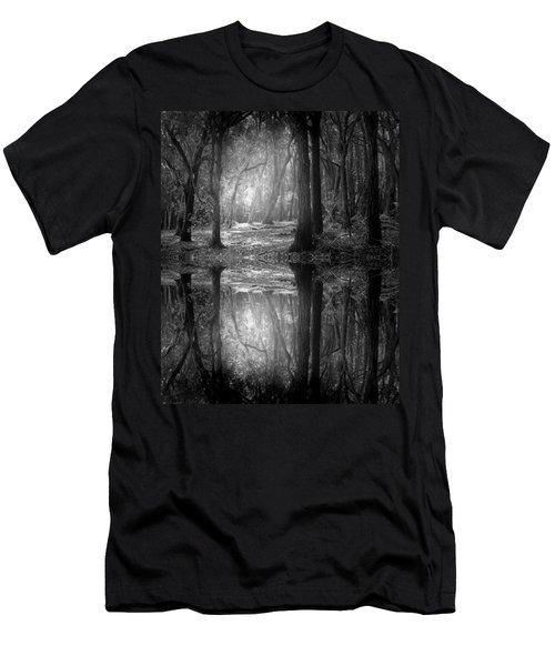 And There Is Light In This Dark Forest Men's T-Shirt (Athletic Fit)