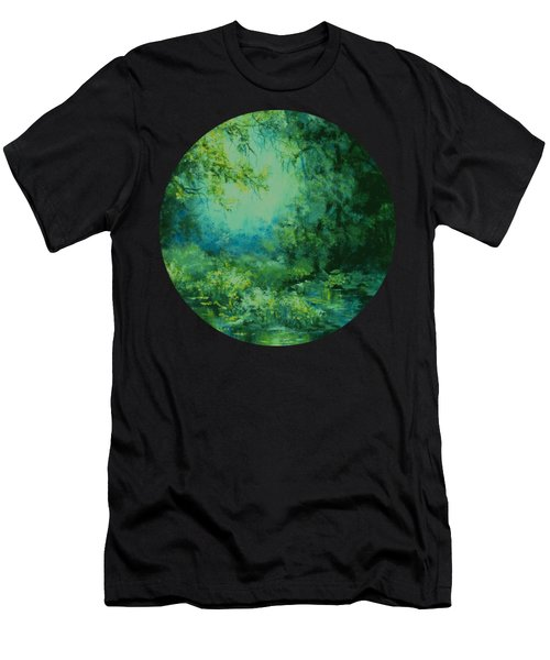 And Time Stood Still Men's T-Shirt (Athletic Fit)