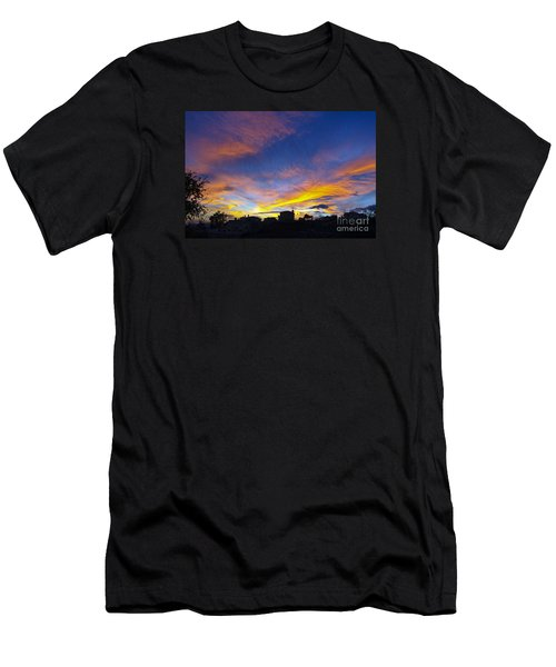 Andalusian Sunset Men's T-Shirt (Athletic Fit)