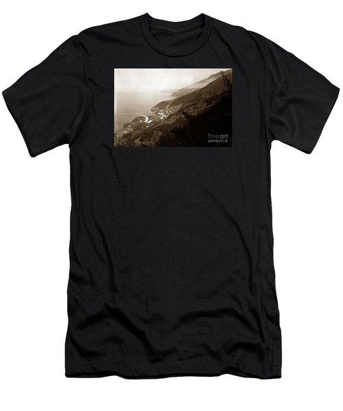 Anderson Creek Labor Camp Big Sur April 3 1931 Men's T-Shirt (Athletic Fit)