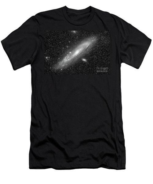 Andromeda Galaxy Men's T-Shirt (Athletic Fit)