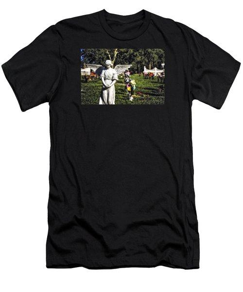 Angel 004 Men's T-Shirt (Athletic Fit)