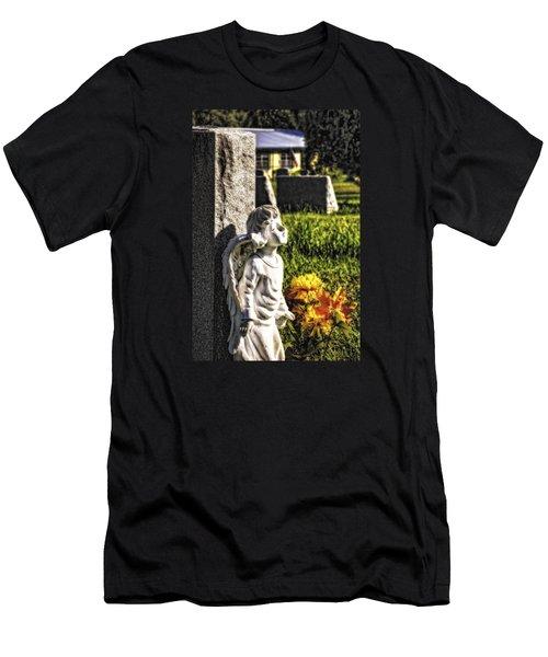 Angel 010 Men's T-Shirt (Athletic Fit)