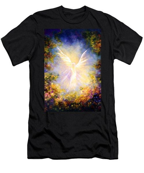Angel Descending Men's T-Shirt (Athletic Fit)