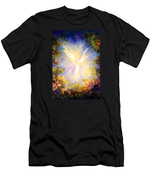 Angel Descending Men's T-Shirt (Athletic Fit)
