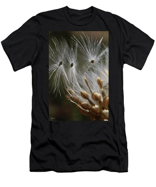 Men's T-Shirt (Athletic Fit) featuring the photograph Angel Down by Rasma Bertz